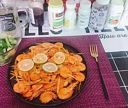 香茅虾的做法