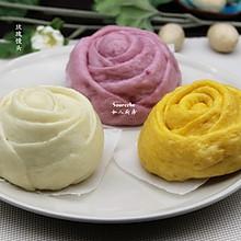 多彩玫瑰馒头#豆果魔兽季联盟#