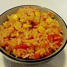 超超级简单版整个番茄饭 电饭煲版本