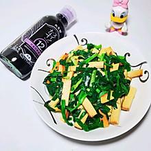 #春日时令,美味尝鲜#韭菜炒豆干