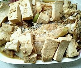 私家黄花鱼炖豆腐的做法