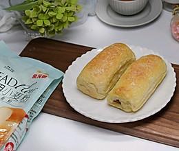奶香小面包#爱好组-高筋#的做法