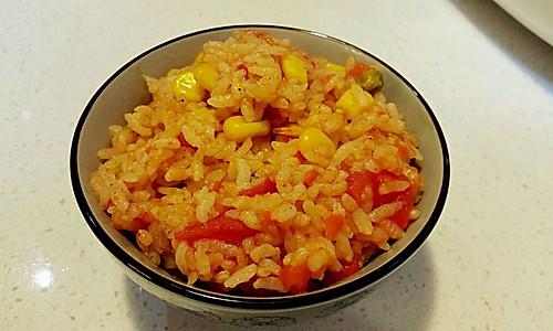 超超级简单版整个番茄饭 电饭煲版本的做法