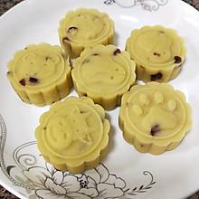 蔓越莓绿豆糕+桂花绿豆糕