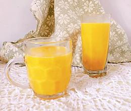 凤梨芒果奶昔的做法