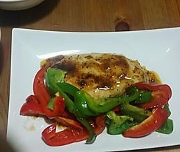 减肥晚餐食谱 黑胡椒鸡胸肉的做法