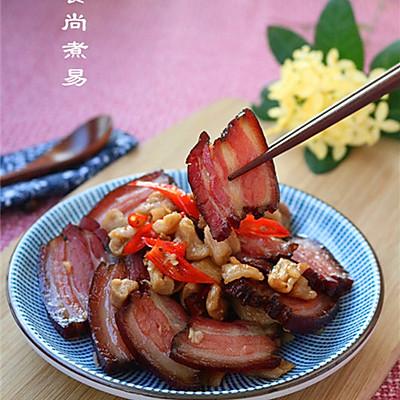 腊肉炒萝卜干