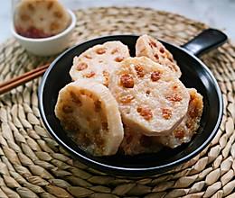 煎酿莲藕#美的微波炉菜谱#的做法
