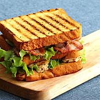 [汉堡实验室]鸡胸培根三明治的做法图解7