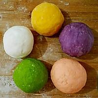 超级彩色饺子。。的做法图解3