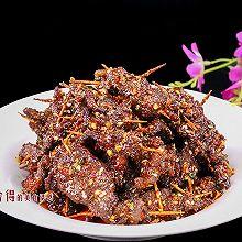 麻辣牙签牛肉怎样做麻辣鲜香,越嚼越想吃,零嘴和下酒的好伴侣