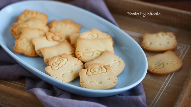 #我们约饭吧#可爱的香草卡通饼干的做法