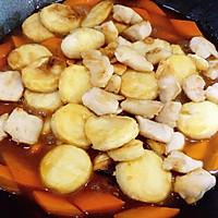 日本豆腐胡萝卜焖鸡胸肉的做法图解9