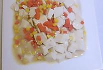 咸蛋黄烩豆腐的做法