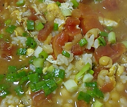 养胃豆汤饭的做法
