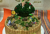 裱花手残党的生日蛋糕之森林小精灵的做法