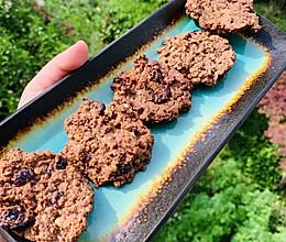 半年瘦了20斤 之 蔓越莓燕麦亚麻籽杏仁饼的做法