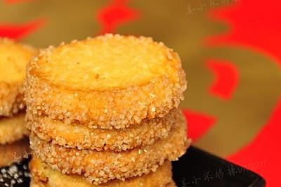 过年零食备起来---椰蓉饼干