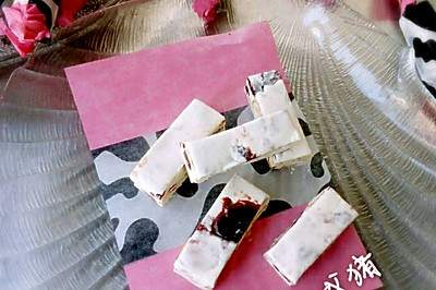 电饭锅蔓越莓杏仁牛轧糖