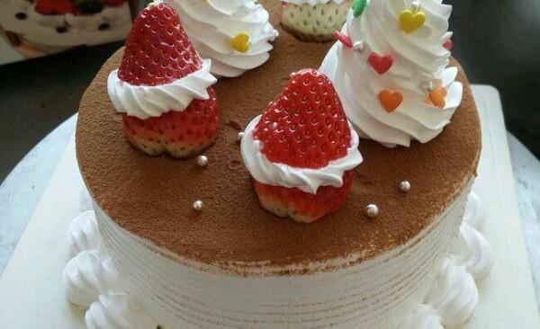 圣诞奶油蛋糕的做法
