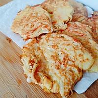 海鲜大咖小海鲜饼的做法图解4