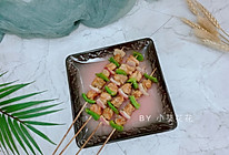 彩蔬鸡肉串的做法