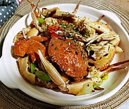 锦娘制——葱姜炒蟹的做法