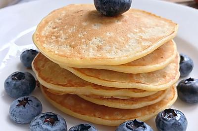 简单好吃的香蕉松饼pancake