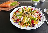 鸡蛋酱蔬菜沙拉的做法