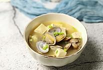 #洗手作羹汤#花甲豆腐味噌汤的做法