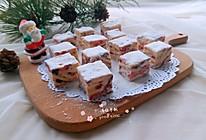 #令人羡慕的圣诞大餐#双莓雪花酥的做法