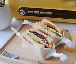 美味早餐三明治#小熊多士炉#的做法