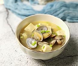 花甲豆腐味噌汤的做法