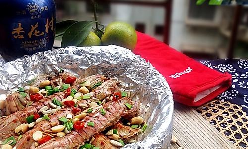 烤箱试用---瓦煲焗虾蛄#九阳烘焙剧场#的做法