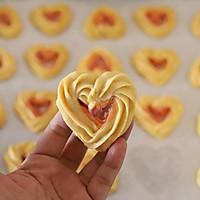 自制情人节礼物:爱心曲奇饼干的做法图解14