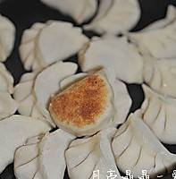 藕丁猪肉煎饺的做法图解8