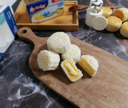 冰皮奶黄榴莲月饼的做法