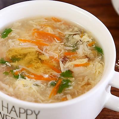 立冬了,来碗热气腾腾的汤,10分钟就搞定,还可以补钙