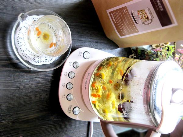 红枣杞菊茶