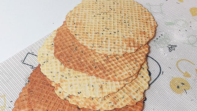 芝麻薄脆饼12M+的做法