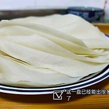 自制传统春卷皮-蒸锅版本