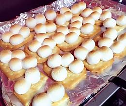 超简单甜点棉花糖饼干的做法