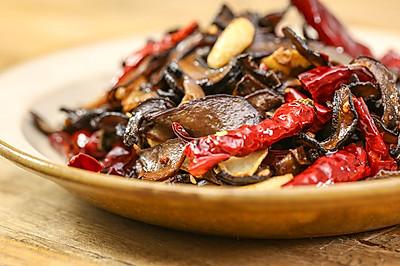 炒牛肝菌|美食台
