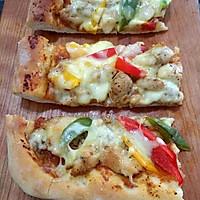 鸡肉彩椒披萨