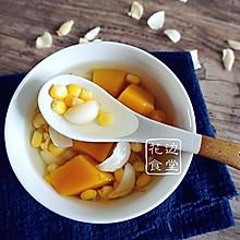 南瓜玉米百合粥