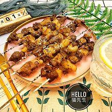 烤羊肉串(大肉块烤箱版)