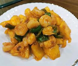 菠萝咕咾虾~的做法