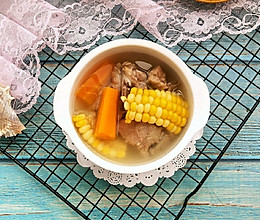 玉米骨头汤的做法
