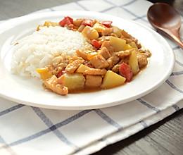 咖喱土豆鸡肉饭的做法