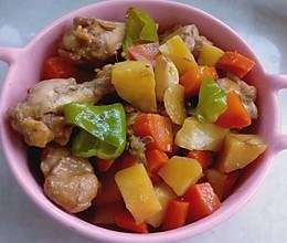 鸡小腿炖土豆的做法